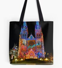 Vivid Sydney 2010 | St. Mary's Cathedral 2 Tote Bag