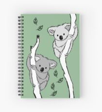 koala? i've never seen her-bi-vore!  Spiral Notebook