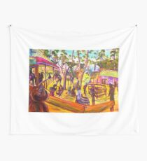 GYMPIE MUSTER - 25TH COLLECTION - MUSTER BAR the corral Wall Tapestry