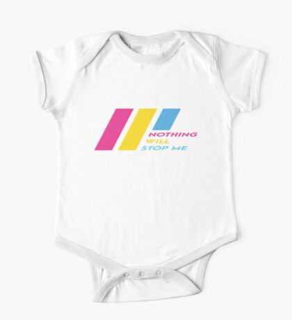 Pride Stripe: Nothing Will Stop Me Kids Clothes