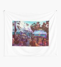 GYMPIE MUSTER- COLLECTION - POETS BREAKFAST-MUSTER CLUB Wall Tapestry