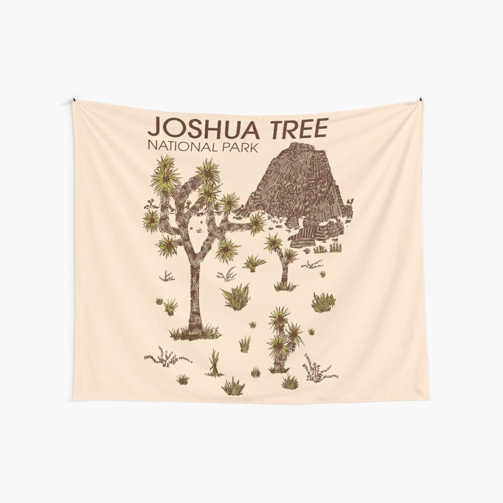 Joshua-Baum-Nationalpark Wandbehang