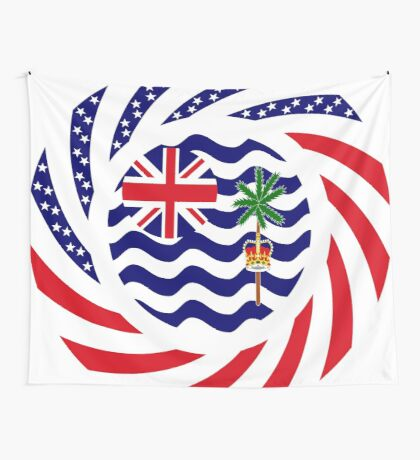 British Indian American Multinational Patriot Series Wall Tapestry