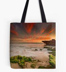 Moss Rocks Tote Bag