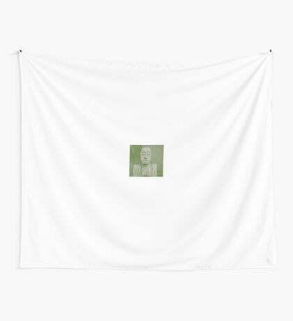 Karma in green Wall Tapestry