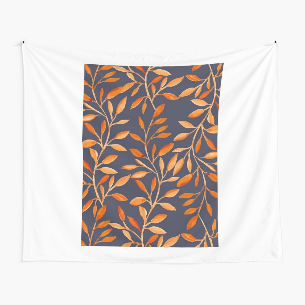 Autumn pattern Wall Tapestry