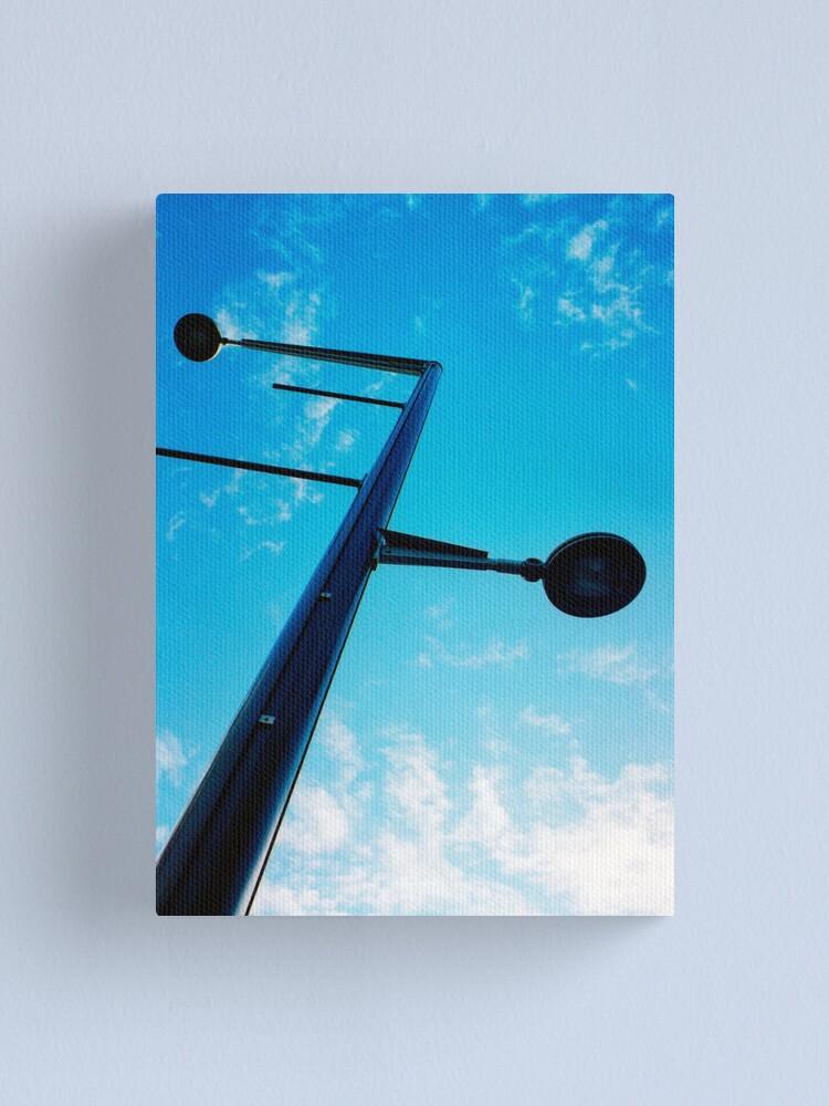 "Alternate view of ""Lamp Post"" Canvas Print"