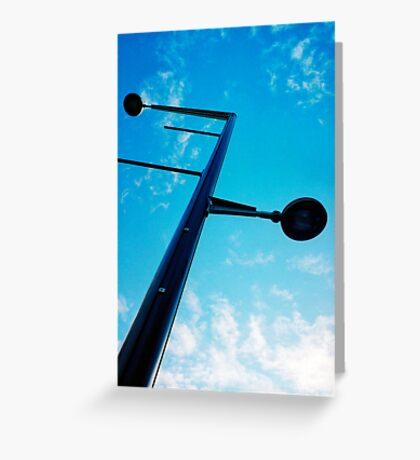"""Lamp Post"" Greeting Card"