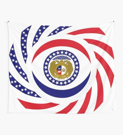 Missouri Murican Patriot Flag Series Wall Tapestry