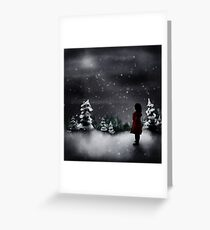 Christmas scene 2013 Greeting Card