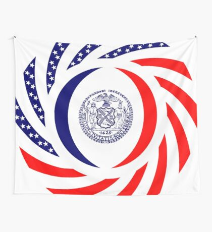 New York City Murican Patriot Flag Series Wall Tapestry