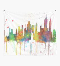 New York, NY Skyline Wandbehang