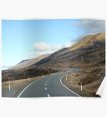New Zealand roadways Poster