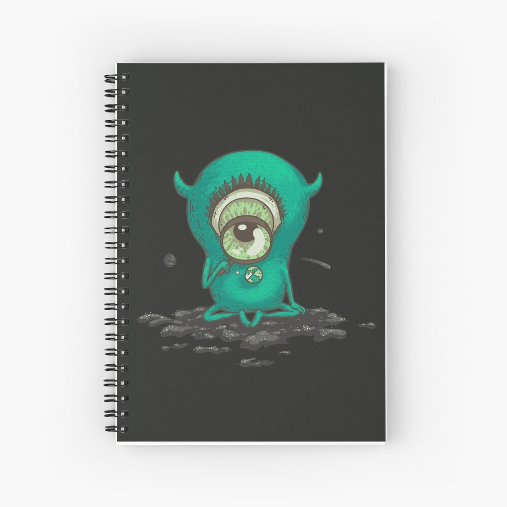 The Observer Spiral Notebook