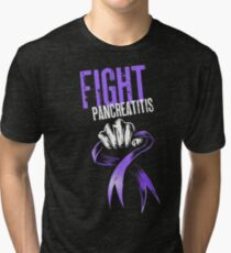 Fight Pancreatitis Tri-blend T-Shirt