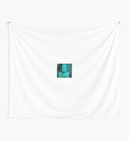 Karma in Turquise  Wall Tapestry