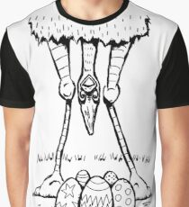 Easter Cassowary Graphic T-Shirt
