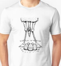 Easter Cassowary Slim Fit T-Shirt