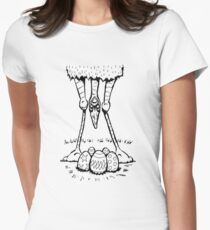 Easter Cassowary Fitted T-Shirt