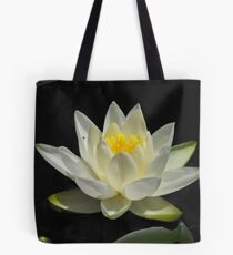 Water Lily From A Canoe Tote Bag