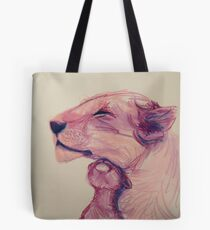 Lioness and Cub Tote Bag