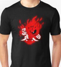 Cyberpunk 2077 Samurai Red Demon Slim Fit T-Shirt