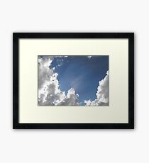 Heavenly Rays Framed Print