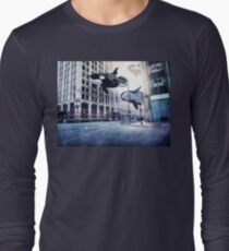City of whales Long Sleeve T-Shirt