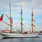 Sagres - Tall Ship of Portugal by Poete100