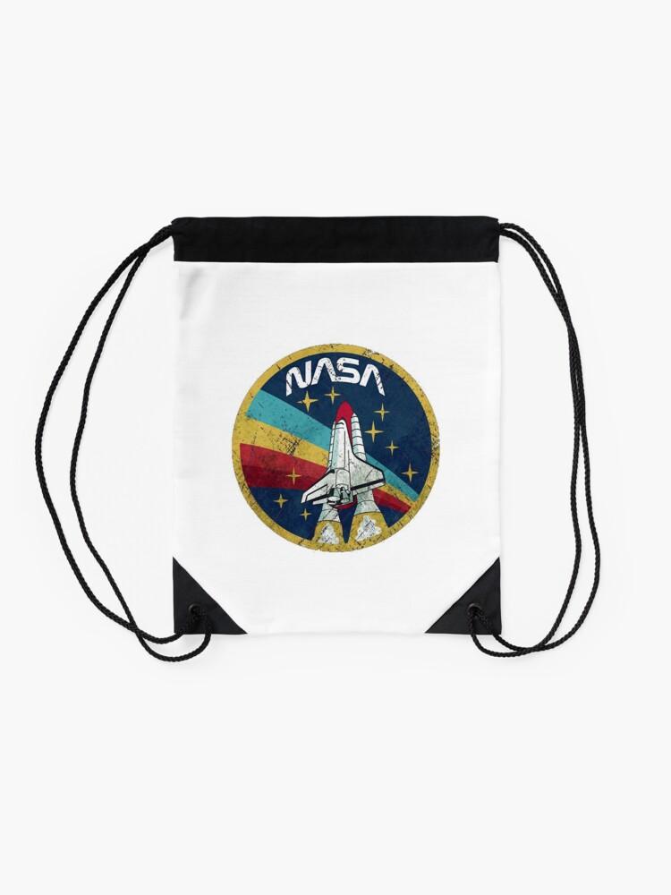 Alternative Ansicht von NASA Turnbeutel