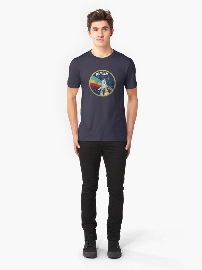 Alternative Ansicht von NASA Slim Fit T-Shirt