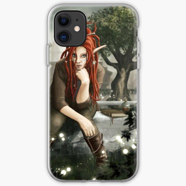 Siteya Ganaya, elf priestess and healer iPhone Soft Case