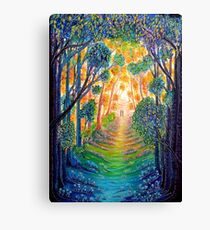Trees - Our Colourful World Canvas Print