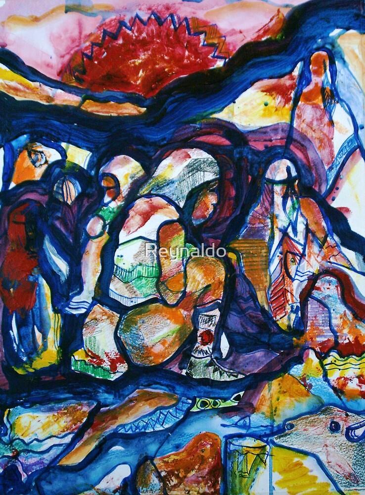 The Sun Sets...On The Chiricahua by Reynaldo
