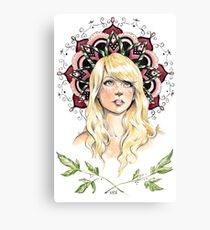 Mandala Girl Canvas Print