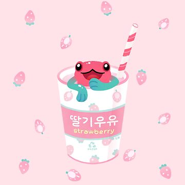 Strawberry poison milk 2 by pikaole