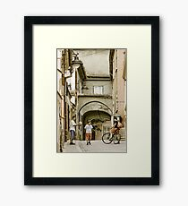 OnePhotoPerDay Series: 168 by L. Framed Print