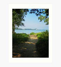 Sheldon Marsh Beach Trail Art Print