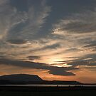 Sunset over Sligo Bay by Ian Middleton