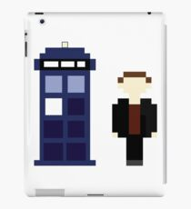 Pixel 9th Doctor and TARDIS iPad Case/Skin