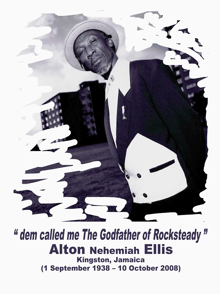 The Godfather of Rocksteady by jeanninedespins