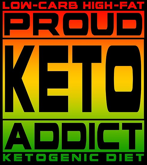 PROUD KETO ADDICT! Obsessed With Bacon On Ketogenic Diet - Rasta Design