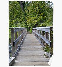 The Wooden Bridge Poster