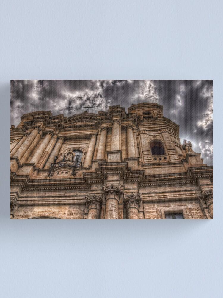 Alternate view of La chiesa di San Francesco - Catania Canvas Print