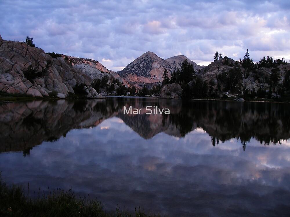 Crown Lake as the Sun Sets by Mar Silva