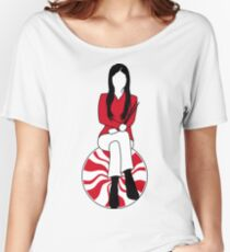 Meg White - Peppermint Edition Women's Relaxed Fit T-Shirt