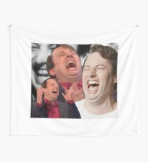 David Mitchell Hysterical Laugh Tapestry