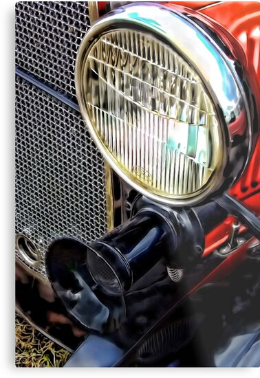 Classic Model T by Heather Haderly