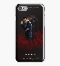 Moriarty: I Will Burn the Heart Out of You! iPhone Case/Skin
