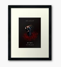 Moriarty: I Will Burn the Heart Out of You! Framed Print